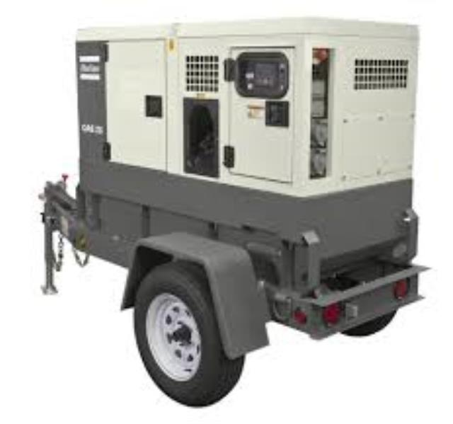 Where to find GENERATOR 25KVA ON TRAILER in Boone
