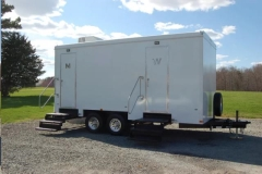 Rental store for PORTABLE RESTROOM TRAILER in Boone NC